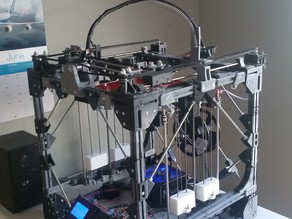 """Project Locus"" - A Large 3D Printed, 3D Printer"