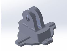Dongle for GoPro mount