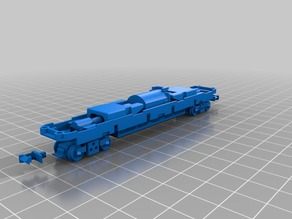 Tomytec TM-06R N scale chassis