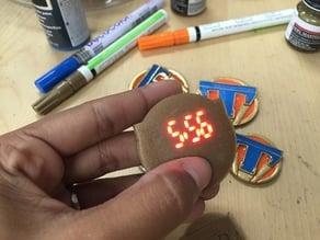 Working Tomorrowland Pin