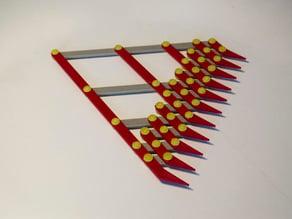 10 Segment Equal Length Divider