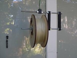 Hanging RepRap Filament Spool Holder