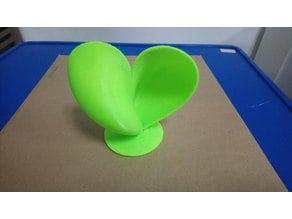 Rotating 3D heart