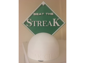 Beat The Streak 2018 Trophy
