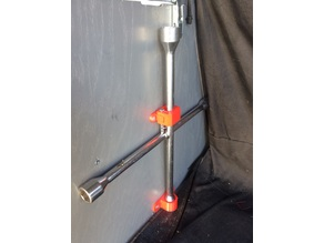 4 way tire Iron Mount