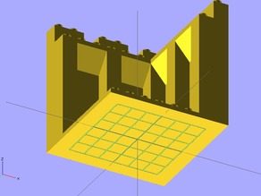 Modular castle kit - Duplo compatible