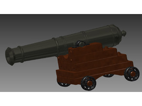 Naval Cannon for Black Pearl