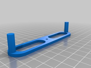 Center finder, customizable (parametric), for woodworking etc.