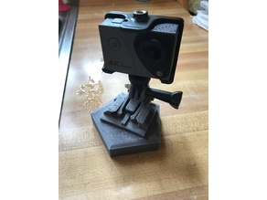 GoPro buckle base/stand (5 sides, decorative)