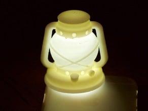 oil lamp light