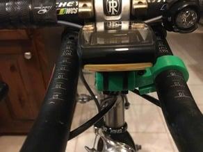 Customizable Aerobar Bike Computer Mount