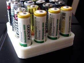 Batteries holder