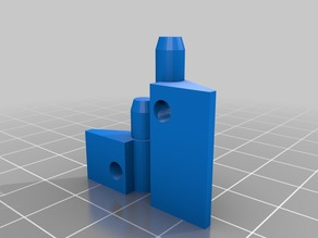 Hinges for Prusa i3 MK2 Electronics cover