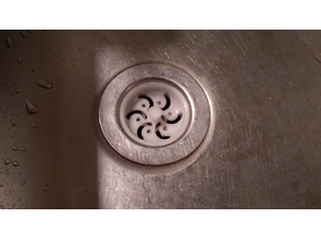 Sink Strainer Plug