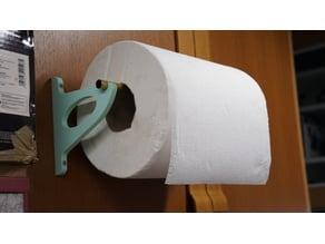 Paper towel wall mount