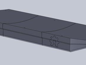 E Skateboard VESC case and battery holder