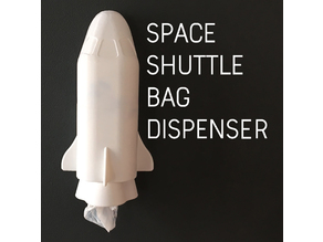 Space Shuttle Bag Dispenser!
