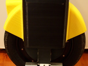 Fender for 3D-printed Electric Unicycle E14S