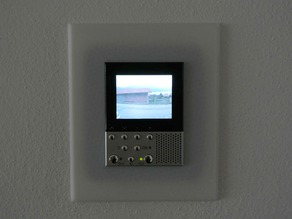 Frame for Bticino Axolute Video Display