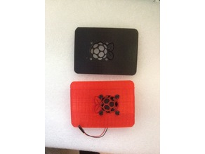 Raspberry PI 3 official case replacement fan top
