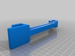 Improved Arm for DIY3D's MakerGear M2 Raspberry Pi holder