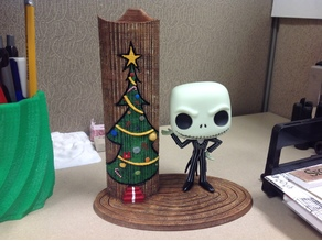 Jack Skellington Funko Figure Display