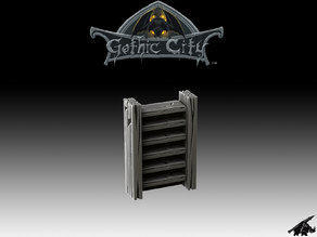 Gothic City Ladder- Our New KICKSTARTER is Now LIVE!!!!