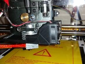Fan Shroud for Turnigy Fabrikator 3D + metal hot end