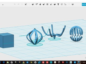 Autodesk 123D Design: Circular and Odd Shape Cages [ 818pm ]