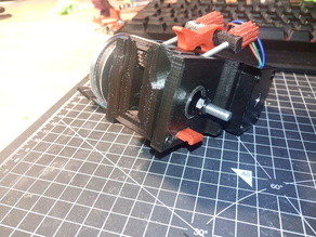 Geared GT2 Bowden Extruder for MK7 - V4