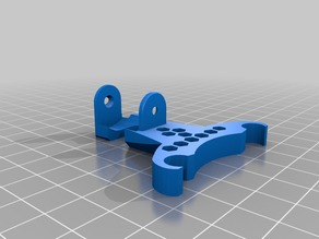 Ender 3 Hotend Cable Chain Mount (Stronger)