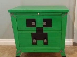 Minecraft drawer knobs