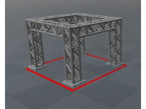 Stage frame / truss