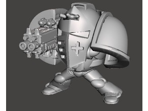 Totally Accurate Space Marine Dreadnaught for 40k