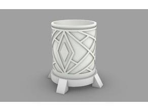 Art Deco Kitchen/bathroom cup