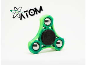 Atom Tri bar fidget spinner