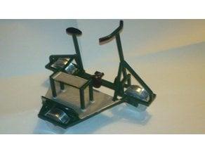 """Track Bike/Trolley """"KIT"""" H0_Scale 1/87"""