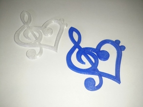 Music Key Heart