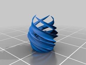 Vortex Vase (with flat bottom)