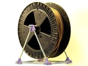 Filament Spool Holder with M8 thread bars