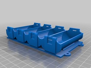 32650 Battery Holders - one and four cells
