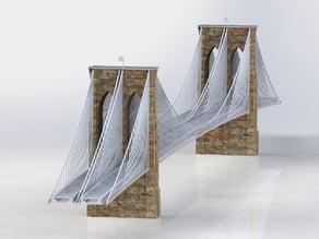 The Brooklyn Bridge - Large