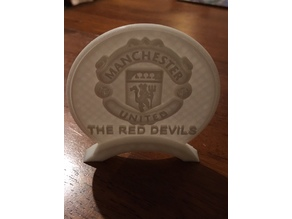Manchester United Table Stand - fixed