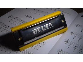 harmonica support