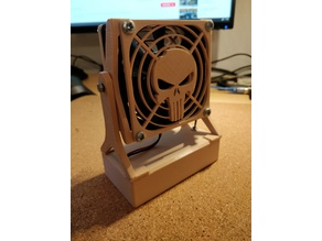 80mm fan holder