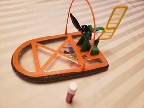 R/C Micro Hovercraft