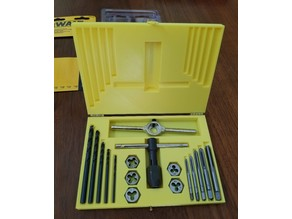 Tap and Die Case for DeWalt DWA1450 Metric kit