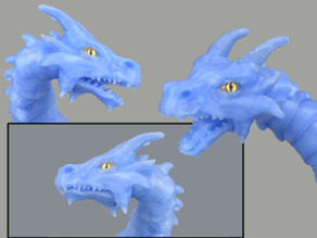 Articulated dragon mouth