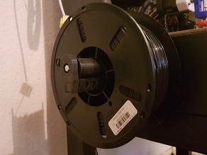 Small 1KG Filament Spool Holder (with ball bearing) // Kleiner 1KG Filament Rollenhalter (mit Kugellager)
