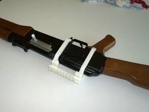 Picatinny rail adapter for AK-47